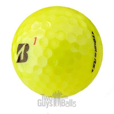bridgestone tour b rx yellow golf balls