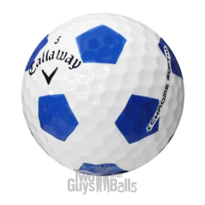 Callaway Chrome Soft Truvis Blue Used Golf Balls