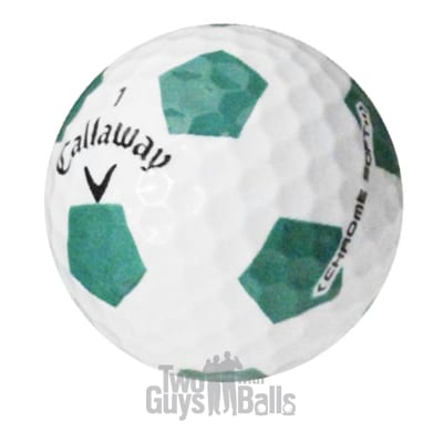 callaway truvis green used golf balls