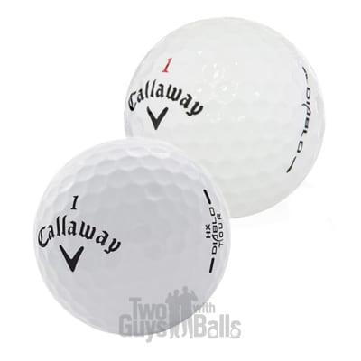 Callaway diablo used golf balls mix