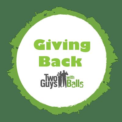 golf giving back program