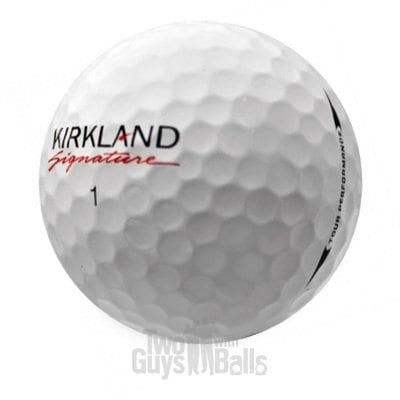 kirkland signature used golf balls