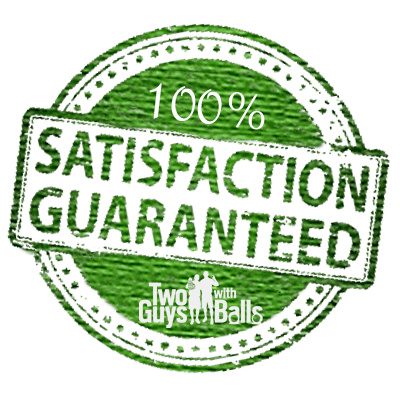 100% Satisfaction Guaranteed on used golf balls