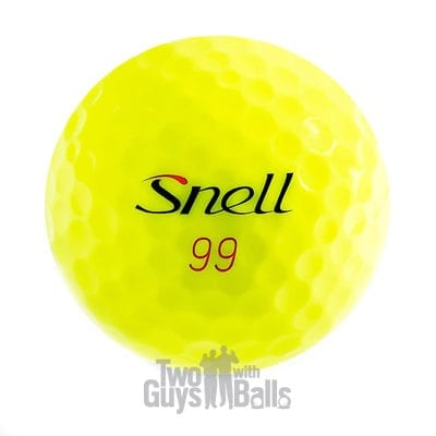 snell mtb red yellow used golf balls