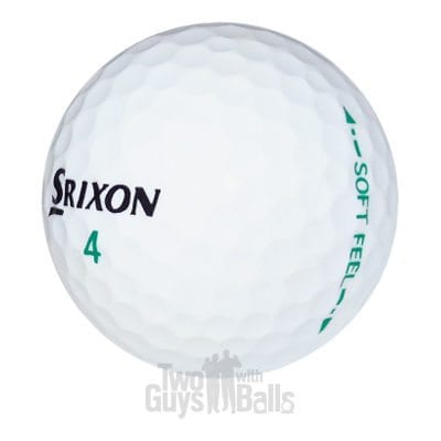 used srixon soft feel golf balls