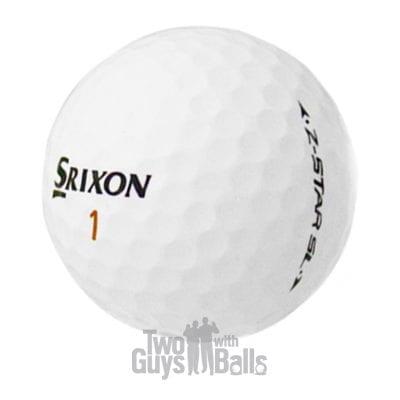 srixon z star sl used golf balls