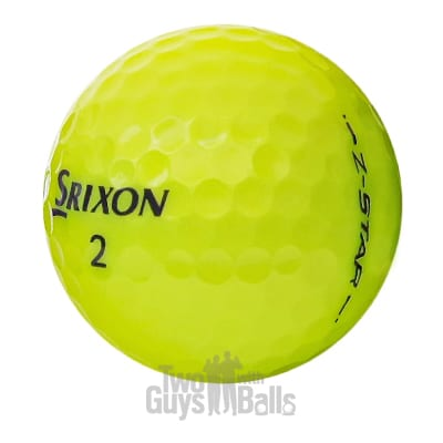 srixon z star yellow used golf balls