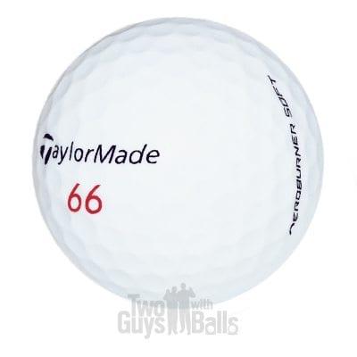 Taylormade Aeroburner Soft Used Golf Balls