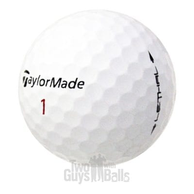 TaylorMade Lethal Used Golf Balls