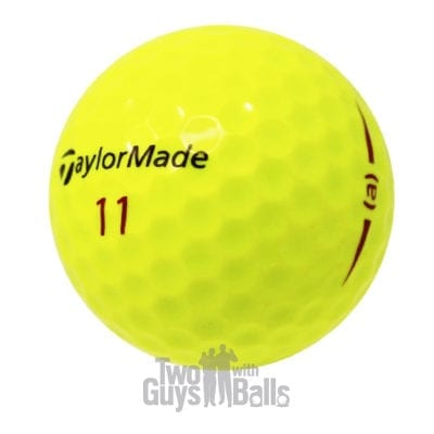 taylormade project a yellow used golf balls