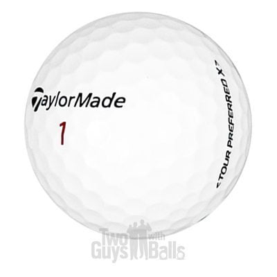 TaylorMade Tour Preferred X Used Golf Balls