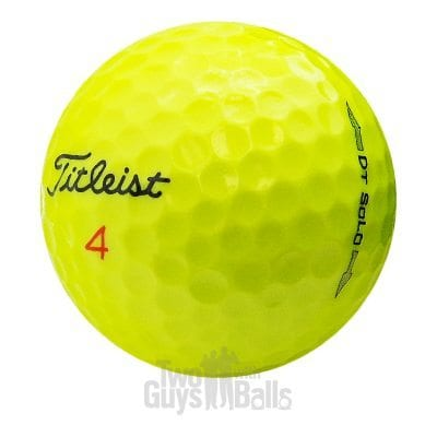 Titleist DT Solo Yellow Used Golf Balls