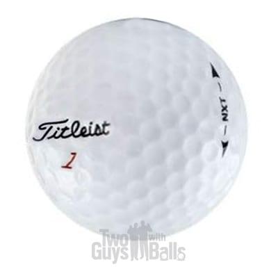 titleist nxt golf balls
