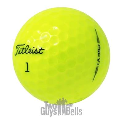 2019 pro v1 yellow used golf balls